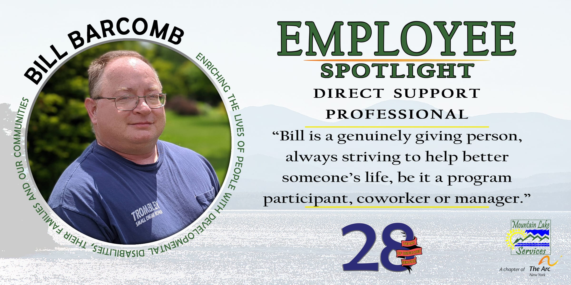 Employee Spotlight of a DSP from Mountain Lake Services